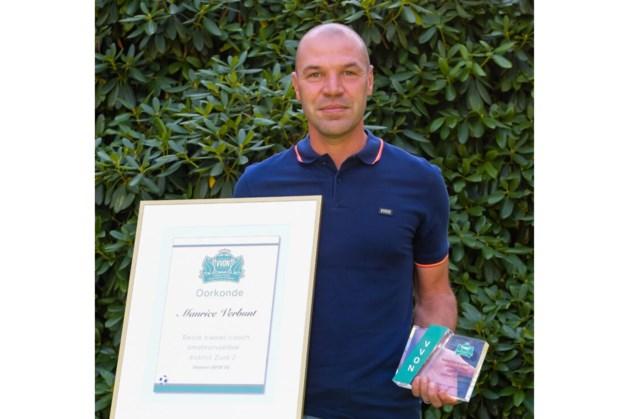 Toch erkenning: VVON-award voor Groene Ster-trainer Maurice Verbunt