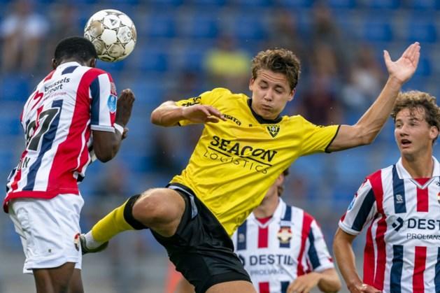 VVV houdt in oefenduel een uur stand tegen Willem II