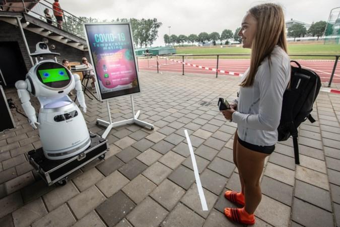 Robot meet temperatuur atleten, volgende stap is de zorg