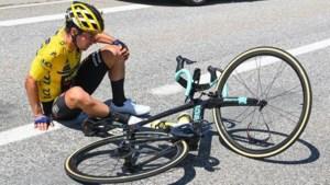 Klassementsleider Roglic niet meer van start in Dauphiné na val