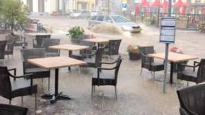 'Rivier' in centrum van Gulpen door noodweer ligt volgens gemeente niet aan recente reconstructie