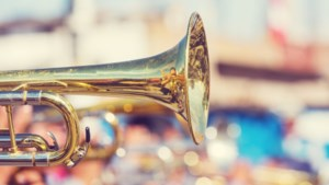 Concert van harmonie- en jeugdorkest tijdens Zomerfestival