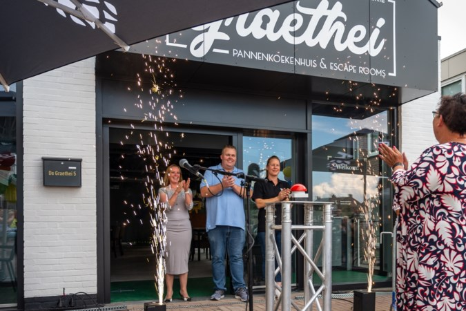 De Graethei in Urmond met escaperooms, kinderhoek en restaurant officieel geopend