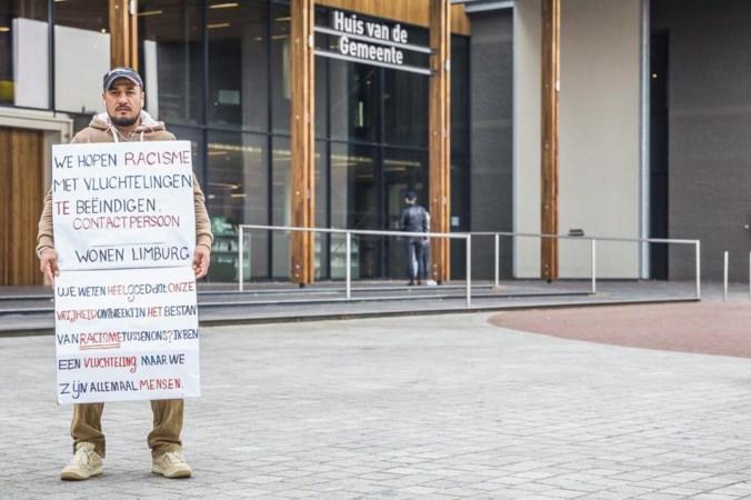 Syrische vluchteling die in juni stond te protesteren in Panningen is verhuisd naar Someren