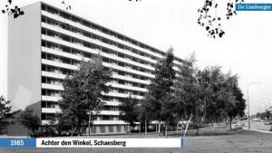 In een tijd dat de mijnsluitingen zich aandienden, verrezen in Schaesberg hoogbouwflats