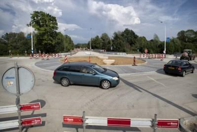 Fietsersbond en Wandelnet ongelukkig met nieuwe rotondes Nuth: 'Half werk van provincie Limburg'