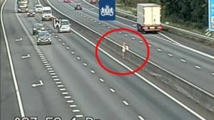 Levensgevaarlijk: Vrouw steekt snelweg over om benzine te halen