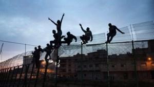 Bestorming Spaanse enclave Melilla door migranten