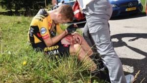 Geblesseerde Steven Kruijswijk zegt af voor Tour de France