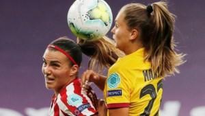 Lieke Martens met Barcelona naar halve finale Champions League