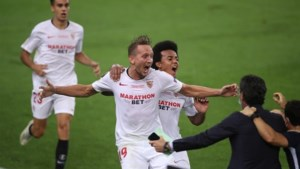 Hoofdrol voor Luuk de Jong bij Europa League-winst Sevilla