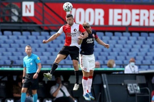Bryan Linssen over rode loper naar basisplaats bij Feyenoord