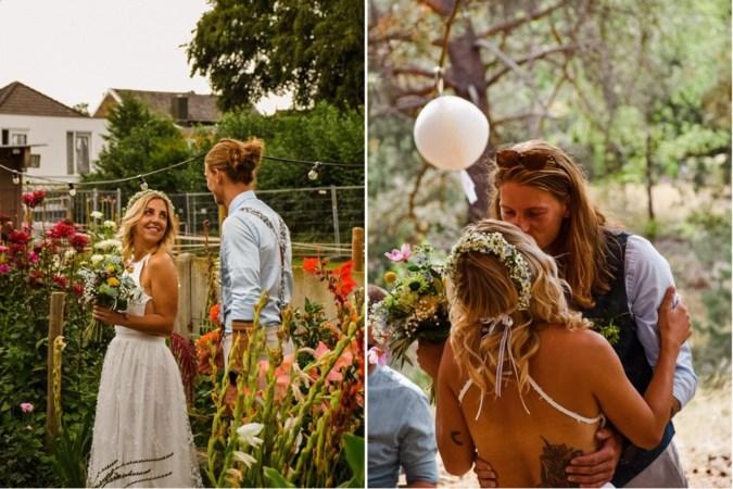 Huwelijksdag Landgraafs koppel krijgt onverwachte wending door heidebrand: 'We hadden net het jawoord gegeven'