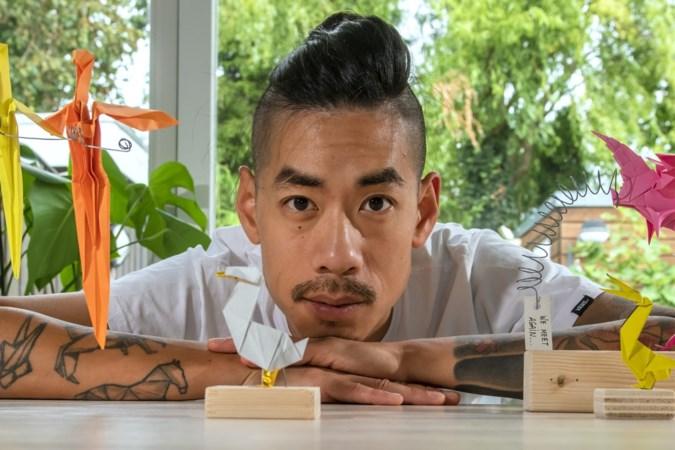 Wai-Tou Tsang: 'Origami is de nieuwe meditatie, het is heel rustgevend'
