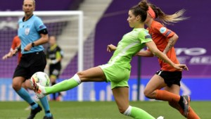 'Het Wolfsburg van Dominique Janssen is in de Champions League favoriet tegen het Barcelona van Lieke Martens'