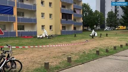 Video: Lichaam vermoorde vrouw (35) op balkon gevonden