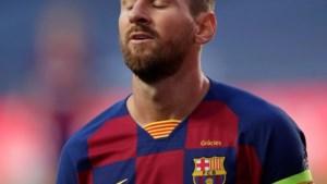 'Messi stelt Barça officieel op de hoogte van vertrekwens'