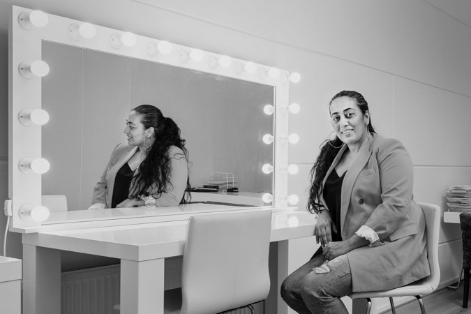 Sumeya Hamie (41): 'Ooit schommel ik boven mijn jeugd in Beiroet uit'