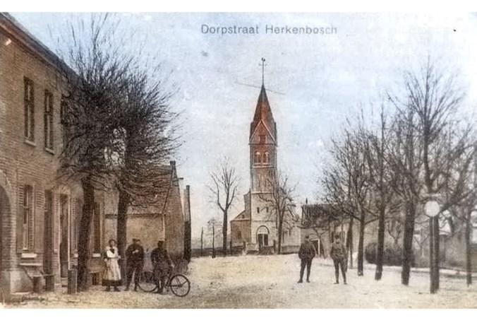 Metamorfose Hoofdstraat in Herkenbosch: enkel het priesterkoor doorstond alle stormen