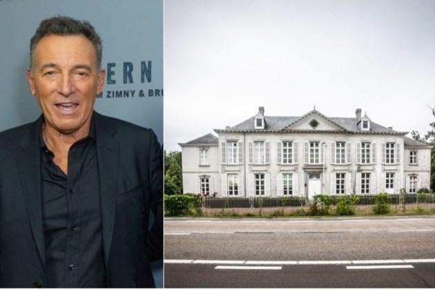 Het gonst al weken van de geruchten: gaat Bruce Springsteen kasteel in Belgisch Limburg kopen?
