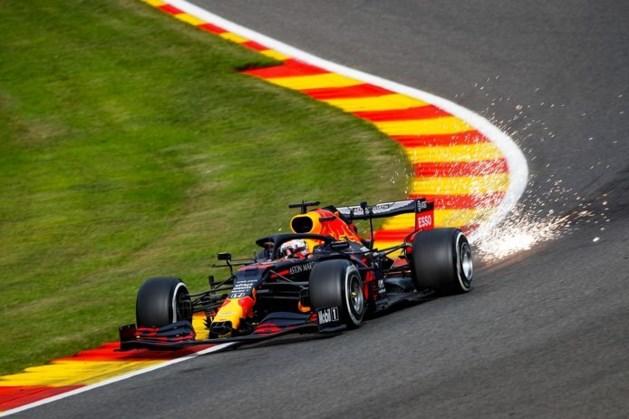 Verstappen in middagtraining het snelst, Ferrari's opnieuw bedroevend