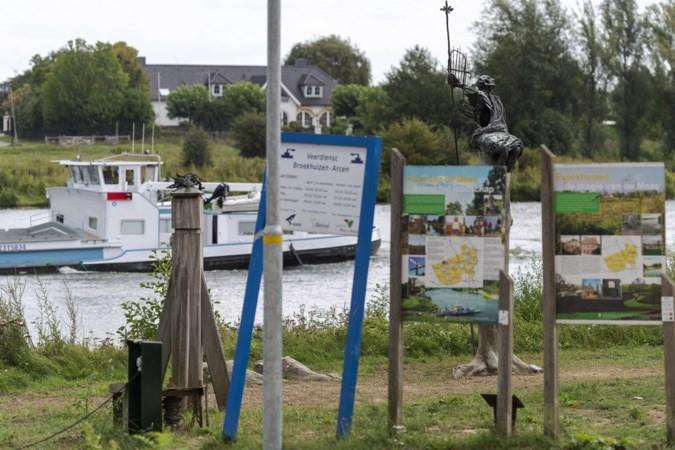 De loswal is niet het beloofde visitekaartje: Broekhuizen heeft geen mooi uitzicht op de Maas