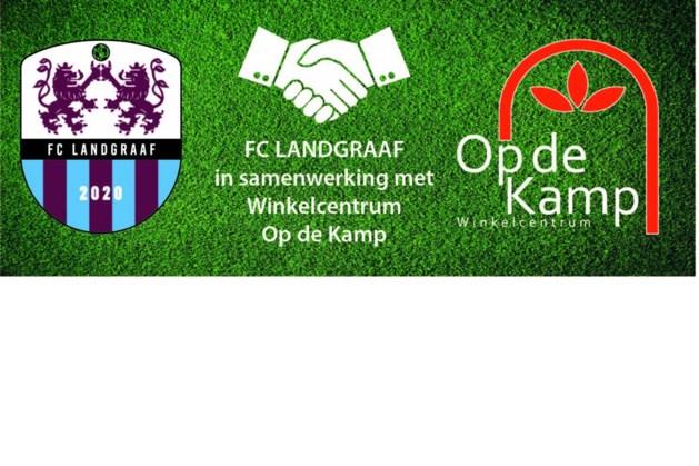 FC Landgraaf en winkelcentrum Op de Kamp slaan de handen ineen