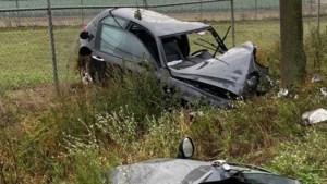 Auto botst tegen boom: bestuurder zwaargewond uit wrak