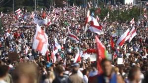 Meer dan honderd arrestaties bij verboden demonstratie Minsk op verjaardag Loekasjenko