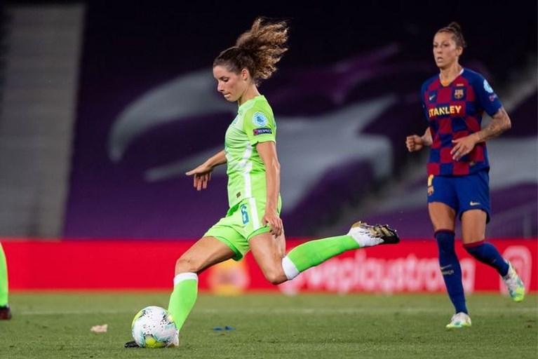 Voetbalster Dominique Janssen: 'Dit is het beste moment om Lyon te verslaan'