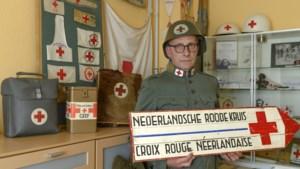 De Rode Kruis-verzameling van Wim Reijners uit Bocholtz begon met een pen en een speldje toen hij 18 jaar was