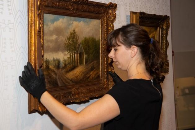 Schilderij 'Sint Oda in het bos' terug in Venrays Museum