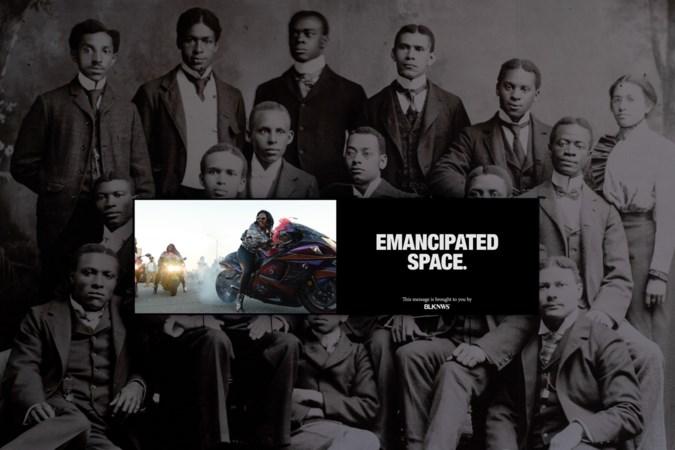 Videokunstwerk Black News van Bonnefantenmuseum inspiratiebron voor rapper Sef