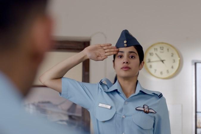 Filmrecensie 'Gunjan Saxena: the Kargil Girl': gewoon een jonge vrouw met een droom
