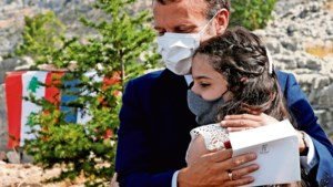 Macron, de laatste hoop van de Libanezen