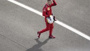 Het eenzame afscheid van Sebastian Vettel in Ferrari-bedevaartsoord