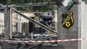 Door brand getroffen SV Meerssen krijgt 'binnen twee weken' water en een noodlokaal