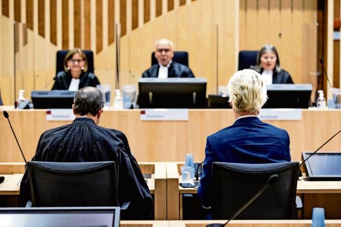 Rechtszaak nadert ontknoping: strafbankje was ook een podium voor Wilders