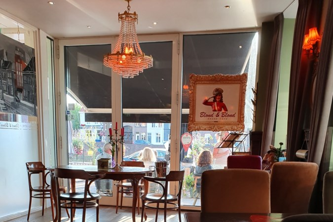 Pittige oosterse mandjes bij Grand Café Blond & Blond in Roermond