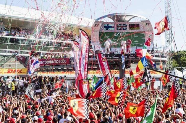 Tóch fans bij GP in Monza: 250 artsen en verpleegkundigen welkom