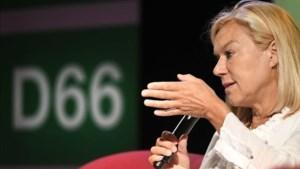 Sigrid Kaag met ruim 95 procent gekozen tot nieuwe leider D66
