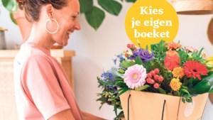De Limburger geeft je € 7,50 korting op een boeket bloemen