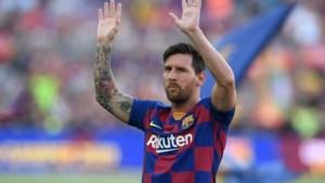 Geruchten rond Messi steeds sterker: 'hij blijft bij Barcelona'