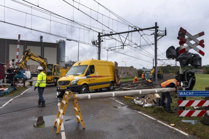 Treinongeluk Roermond: 'Schade is al snel een bedrag met vijf nullen'