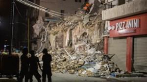 Reddingswerkers ontdekken dertig dagen na verwoestende explosie Beiroet teken van leven onder puin