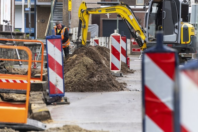 Bijna overal wordt aan de weg gewerkt: 'Nieuwstadt is één grote escape room'