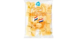 Albert Heijn waarschuwt voor salmonella in kaasblokjes
