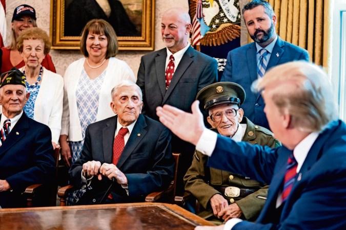 Donald Trump moet na uitlatingen 'suckers' en 'losers' gaan vechten om de steun van het leger