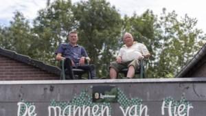 Dakzitters Haelen: ruim tweeduizend euro voor ALS door 24 uur op dak te zitten