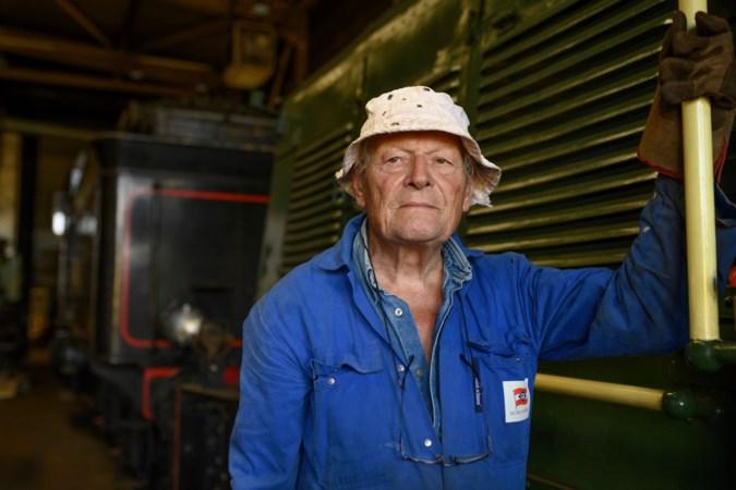 Peter Michielsen (84) is vrijwilliger bij de Miljoenenlijn: 'Ik ben echt een treinengek'